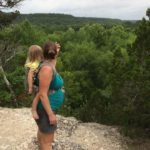 Babywearing While Hiking with a View
