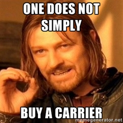buying a carrier