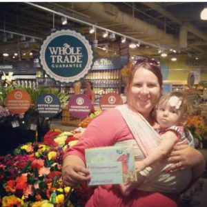 Babywearing While at Whole Foods Austin