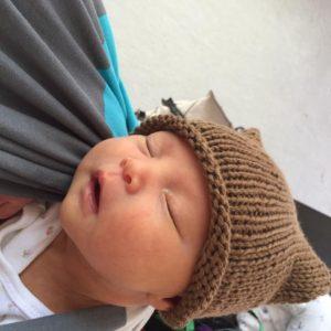 Handknit Babywearing